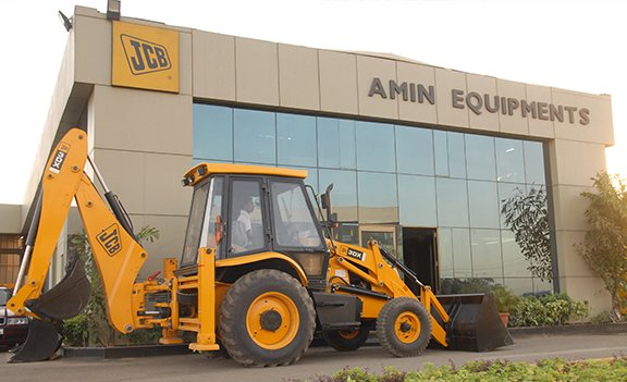 Amin Equipments JCB Ahmedabad