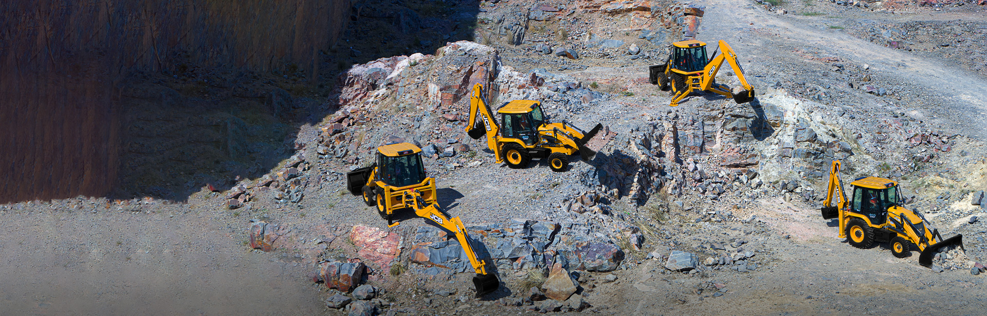 JCB Backhoe Loaders Ahmedabad